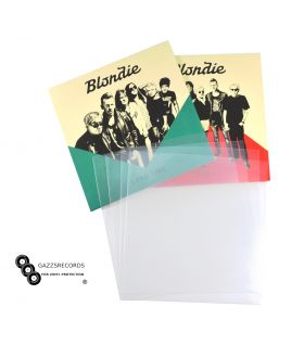 "PACK OF 1000 7"" INCH 450G GAUGE PLASTIC POLYTHENE ACID FREE RECORD SLEEVES"