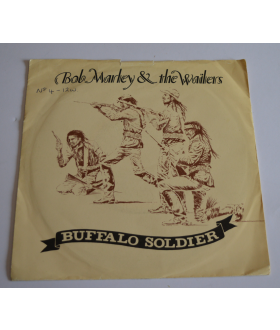 "Bob Marley & The Wailers ‎Buffalo Soldier 7"" Vinyl Single 45 rpm Record"