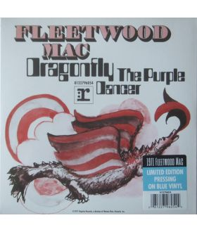 "Fleetwood Mac ‎Dragonfly 7"" Blue Vinyl 45 rpm Limited Edition Record Store Day"