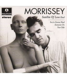 "MORRISSEY Satellite Of Love (Live) 12"" EP Single Vinyl 45 rpm Record"