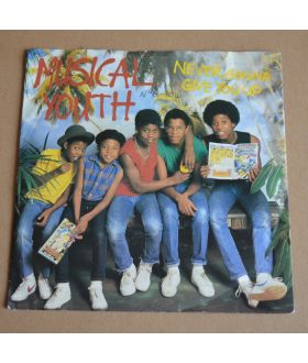 "Musical Youth ‎Never Gonna Give You Up 7"" Vinyl 45 Single Record"
