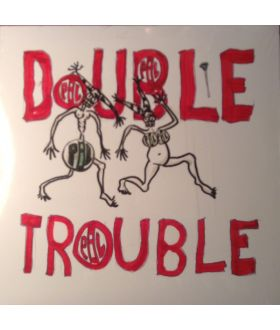 "P.I.L Public Image Ltd ‎Double Trouble 10"" Vinyl 45 rpm EP Single Record"
