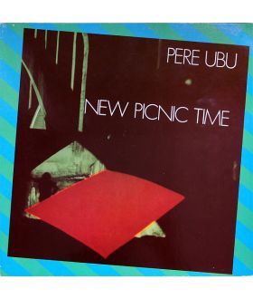 "PERE UBU New Picnic Time Vinyl LP 12"" Album 33 RPM Record Punk"