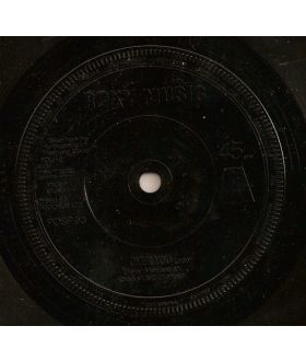 Roxy Music Over You Vinyl 45 rpm Single Record Black Injection Labels Glam