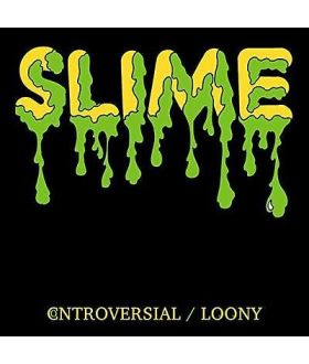 """SLIME Controversial 7"""" Inch Green Vinyl Record Limited Edition"""
