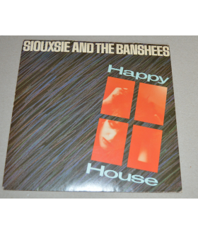 """Siouxsie And The Banshees Happy House 7"""" Vinyl Single Record"""