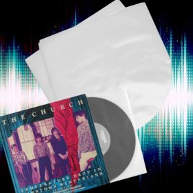 """25 10"""" Inch Groovy's Anti-Static Poly-Inner Vinyl Plastic Record Sleeves"""