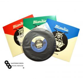 """100 7"""" Groovys Poly-Inner Anti-Static Rounded Bottom Record Sleeves"""