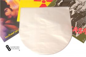 """50 12"""" Groovys Vinyl Poly-Inner Anti-Static Rounded Bottom Record Sleeves"""